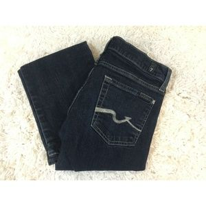 7 For All Mankind Bootcut Dark Wash Denim Seven